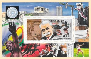 CENTRAL AFRICAN REPUBLIC Sc#693 Souvenir Sheet MINT NEVER HINGED
