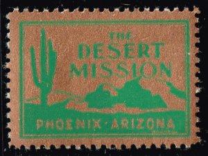 US STAMP Desert Mission TB Charity Seal Collection MNH/OG STAMP LOT #2