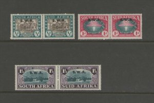 South West Africa 1939 SG 111-113 set MNH