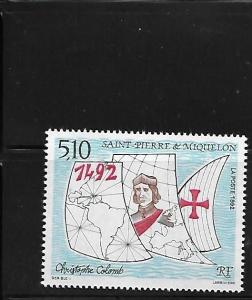 St Pierre & Miquelon 1992 Discovery of America 500th anniversary  MNH A499