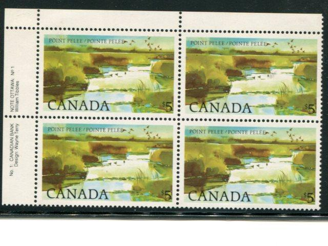 Canada #937 Plate Bl. Mint VF NH  -  Lakeshore Philatelics