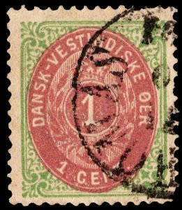 Danish West Indies Scott 5e Used.