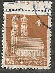 GERMANY, 1948, used 4pf, Munich Scott 635a
