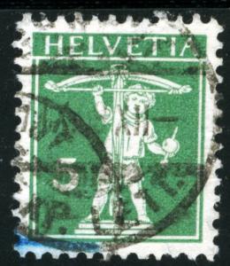 SWITZERLAND #148, USED - 1909 - SWIT004