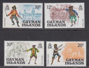 Cayman Islands Scott #362-365 MNH