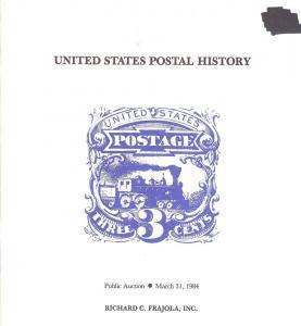 Frajola: Sale # 12  -  United States Postal History, Fraj...