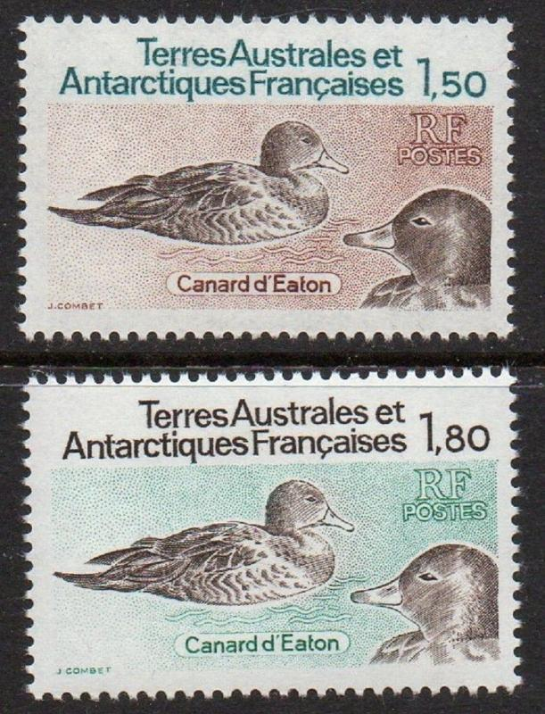 FSAT TAAF 1983 Ducks VF MNH (101-2)