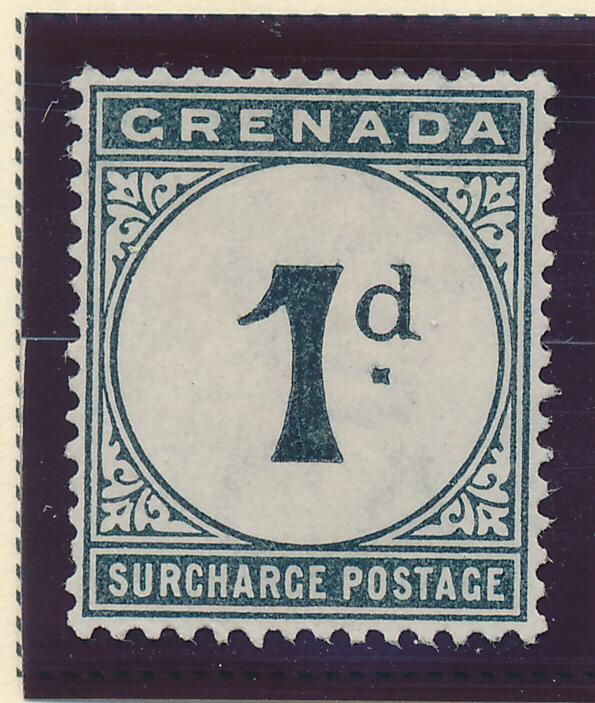 Grenada Stamp Scott #J-1 Postage Due, Mint/Unused No Gum - Free U.S. Shipping...