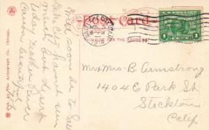 United States Utah Salt Lake City 1914 machine  1c Panama Pacific PPC.