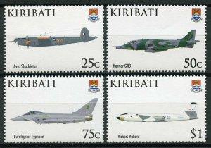 Kiribati 2008 MNH RAF Royal Air Force 90th Anniv 4v Set Avro Aviation Stamps