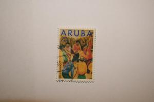 Aruba 1993. 'Cooks Burial'. SG127. UNH