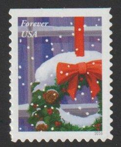 SC# 5146 - (47c) - Holiday Windows, Wreath - MNH single