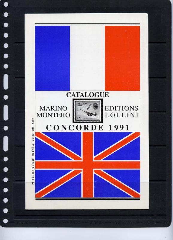 Marino Montero,E.Lollini CONCORDE catalogue 1991
