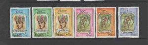 HAITI #812-813  1985 ARRIVAL OF EUROPEANS IN AMERICA      MINT VF NH  O.G