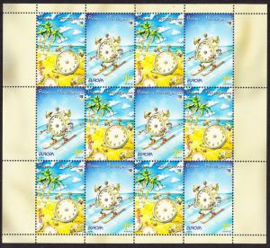 Bosnia and Herzegovina Europa CEPT Holidays Sheetlet SG#785-786 MI#359-360