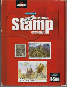 2011 SCOTT STANDARD POSTAGE STAMP CATALOGUE VOLUME 5 (COUNTRIES N-SAM)