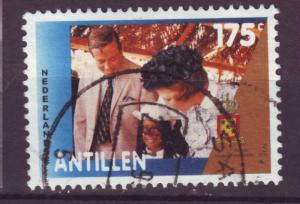 J10377 JL stamps 1992 neth antilles hv set used  #684 royality