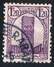 French Morocco 186 Used Tower of Hassan (BP13627)