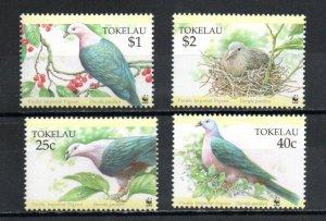 Tokelau 204-207 MNH