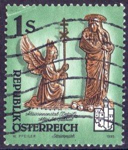 Austria. 1995. 2155. Monastery. USED.