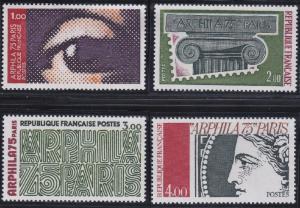 France 1425-1428 MNH (1975)