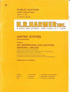 HR Harmer: Sale # 2027-2031  -  United States and Possess...