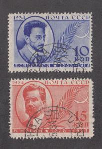 Russia Scott #531-532 Used