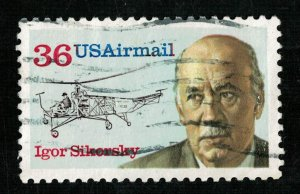 USA, Igor Sikorsky, 35 cents, USAirmail (4079-Т)