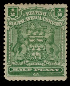 RHODESIA QV SG75a, ½d yellow green, M MINT.