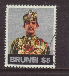 1975 Brunei $5 Fine Used SG232