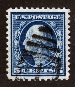 US Sc 504 Blue 5¢ p.11 Well Centered Lrg Margin GEM *PM