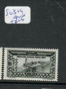 SYRIA   (PP0106B)  10P  PARIS   SG 319      MNH