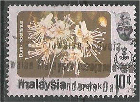 PERAK, 1986 ,used 10c, Flower Scott 156