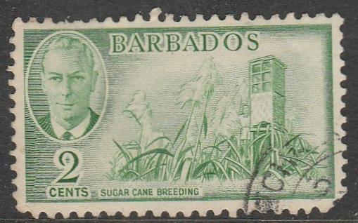 Barbade  1950  Scott No. 217  (O)