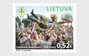 Lithuania 2018 MNH Stamps Scott 1125 Scouting 100 Years of Scout Movement in Lit