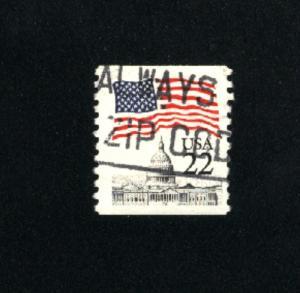 USA #2115  2  used  1985 PD .08