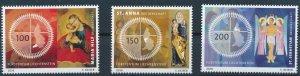 [I1199] Liechtenstein 2016 Religion good set of stamps very fine MNH