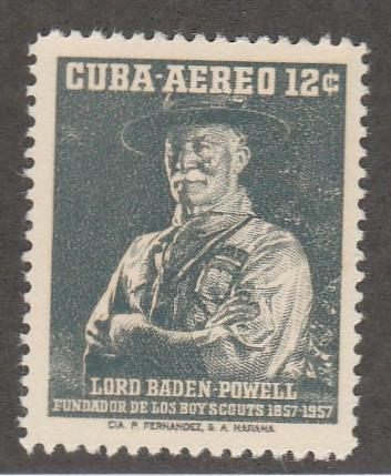 CUBA #C152 MINT HINGED COMPLETE