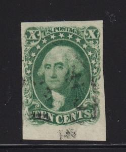 13 XF used margin with PF cert neat cancel with nice color cv $ 950 ! see pic !
