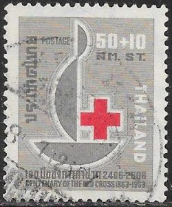 Thailand B41 Used - 100th Anniversary of the Red Cross
