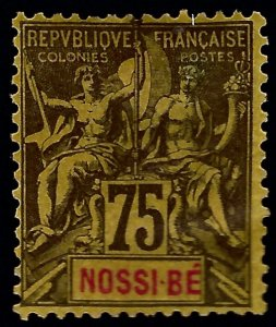 Nossi Be Sc #43 Mint F-VF hr...French Colonies are in Demand!