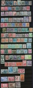 100+ Brazil Stamps Postage Collection Used Cancelled 1876-1958 Brasil Correio