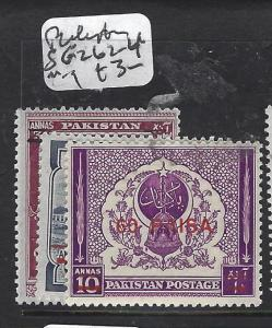 PAKISTAN  (P3101B)  SG  262-4  MOG