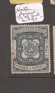 North Borneo SG 45 cancel (9cdc)