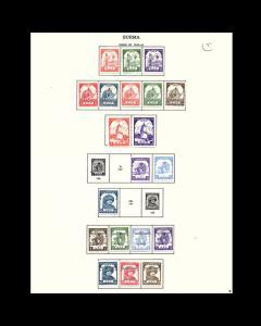 VINTAGE: BURMA 1943 OGLH SCOTT # P8 $77 LOT #1943P8