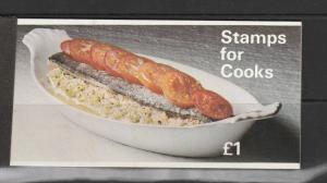 GB Booklet, 1969 Cooks, stitched SG ZP1a