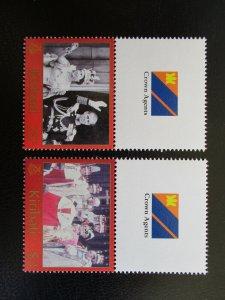 Kiribati #825-26 Mint Never Hinged (M7N4) - Stamp Lives Matter!