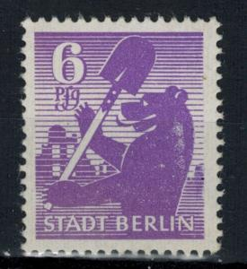 Germany - Russian Zone - Berlin-Brandenburg - Scott 11N2 MNH (SP)