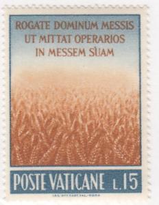 Vatican, Sc # 331, MNH, 1962, Wheat Field