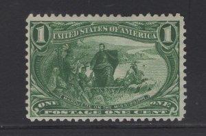 Us Stamp Scott #285 Mint Never Hinged SCV $75